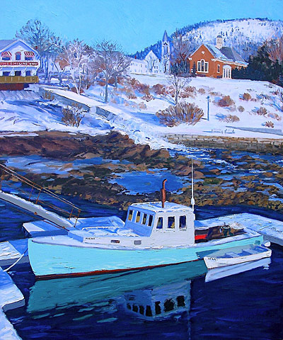 maine boats harbor stonington oil