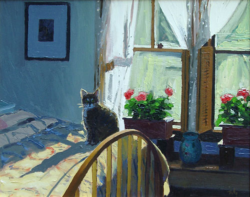 cat portrait oil paintings
